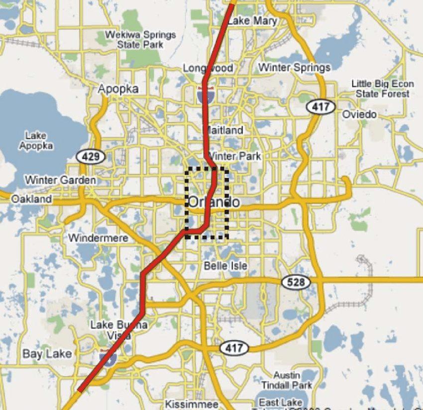Carte Orlando